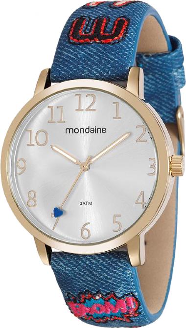 f8715b2e14d 99060LPMVDH1 Relógio Feminino Mondaine Pulseira de Couro Analógico ...