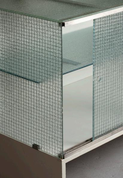 Gerrit Rietveld, Wire Glas Cabinet, 1938 39