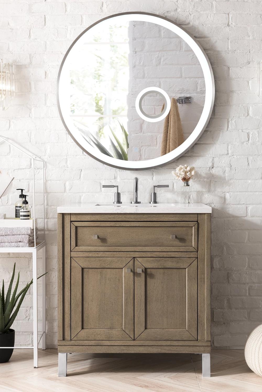 Chicago 30 Single Bathroom Vanity Single Bathroom Vanity Bathroom Sink Vanity Bathroom Flooring