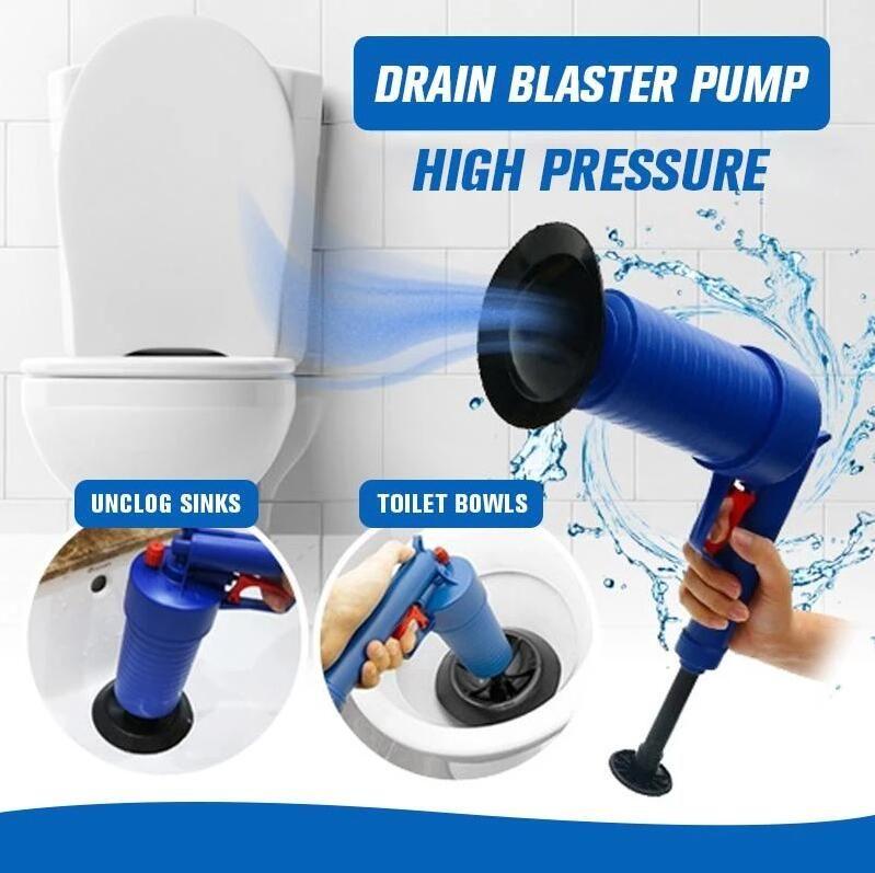 Air Power Cleaner Pump Drain Repair Unclog Drain Unclog Sink