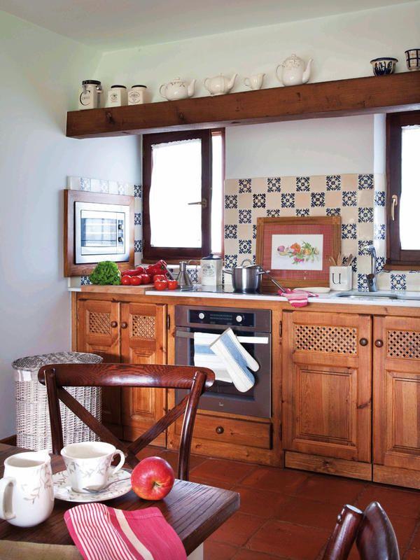 Ambientes de la casa pinterest decoracion casas modernas chalets y estudio apartamento - Decoracion cocinas rusticas campo ...