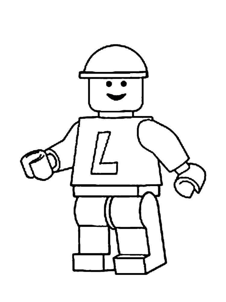 lego - Coloriage Lego
