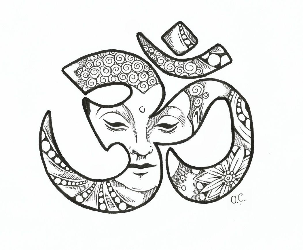 Om With Buddha