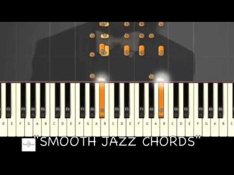 ♬ SMOOTH JAZZ PIANO CHORDS w/ SOLO (JAZZ PIANO) Synthesia