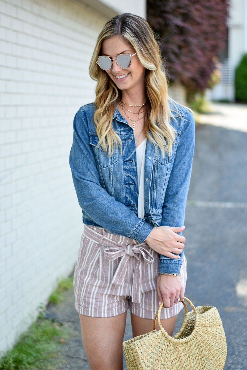 The perfect jean jacket for layering fall fashion pinterest