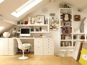 bureau sous comble - Recherche Google | Mon bureau ! | Pinterest ...