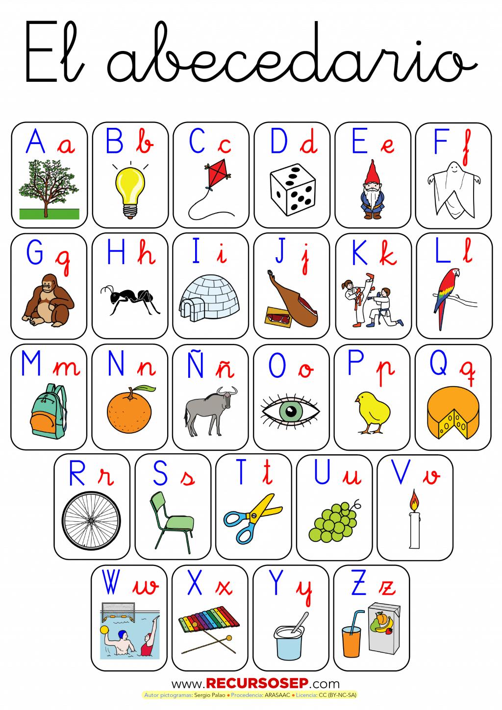 Abecedario con pictogramas para la asamblea de educaci n for Decoradores e interioristas en valencia