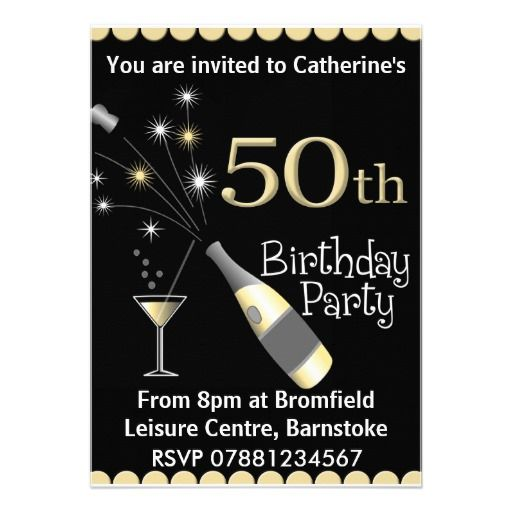 Nice 50th Birthday Invitations Wording Samples Download This Invitation For FREE At
