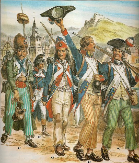 French Troops Invading Catalunya 1793 With Images French