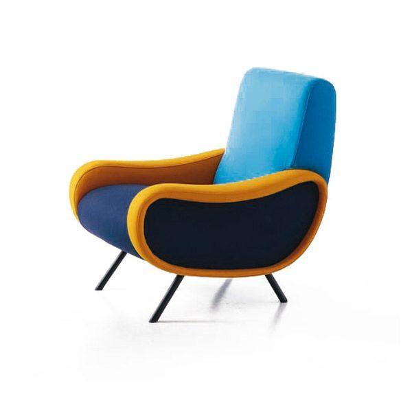 Poltrona Design.Poltrona Lady By Arflex Designed By Marco Zanuso 1951 Products