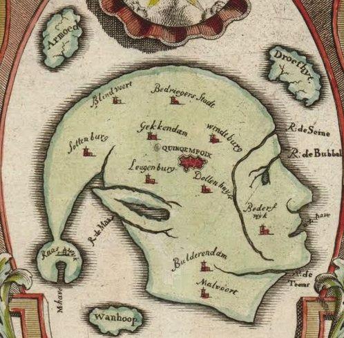 1720 satirical map, via bigthink.com