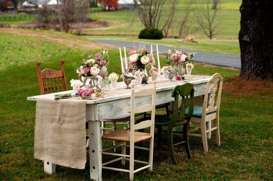 Rusty Love Vintage Rentals Rustic Farm Table How To Use Vintage Wedding Decor Rental Wedding Rentals Decor Vintage Wedding Rentals Vintage Rustic Wedding Decor