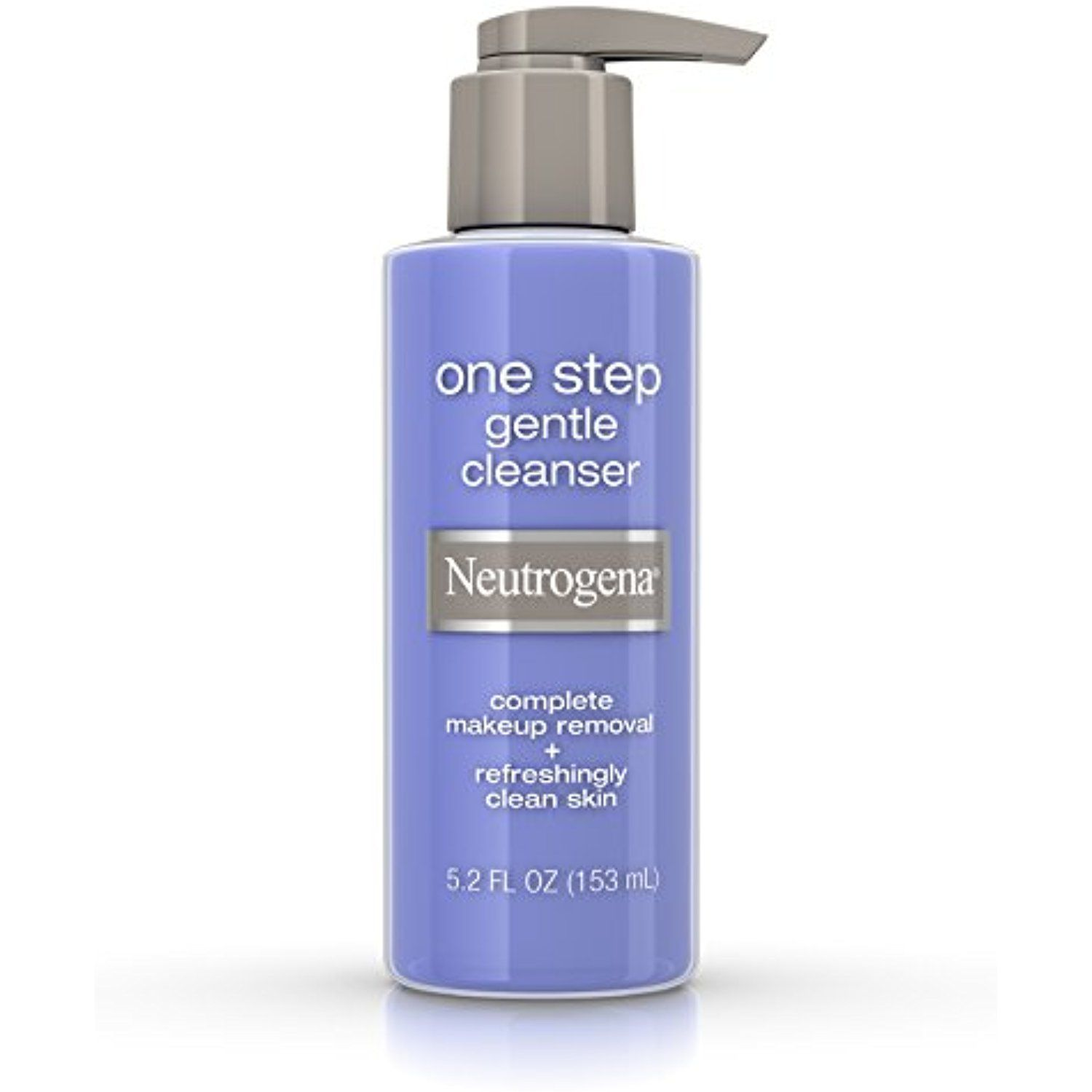 Neutrogena one step gentle facial cleanser and makeup remover