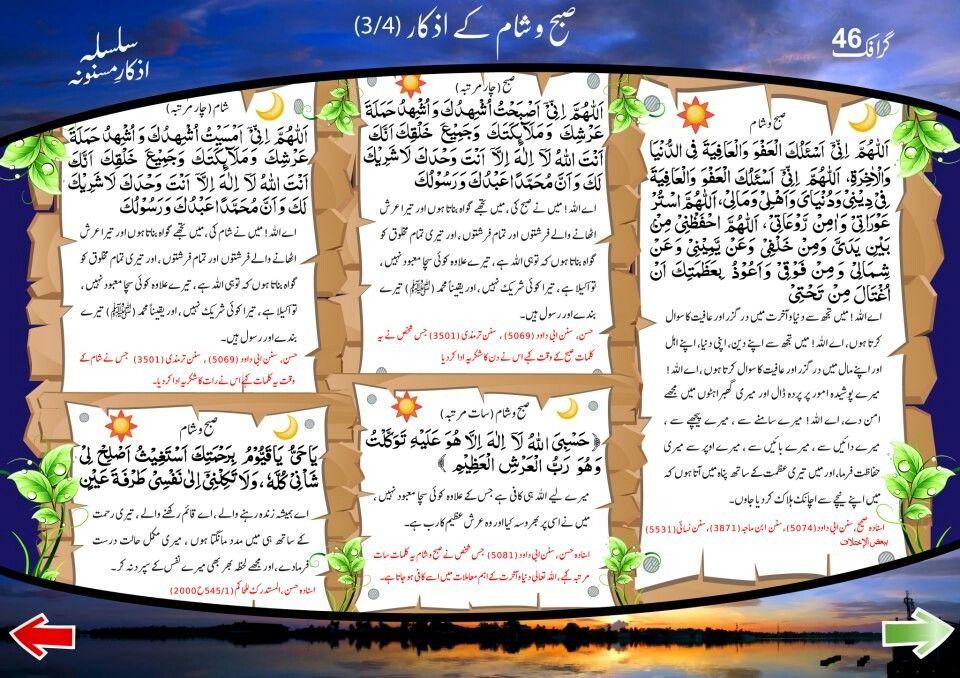 Subha Aur Sham Ke Azkar Miracles Of Islam