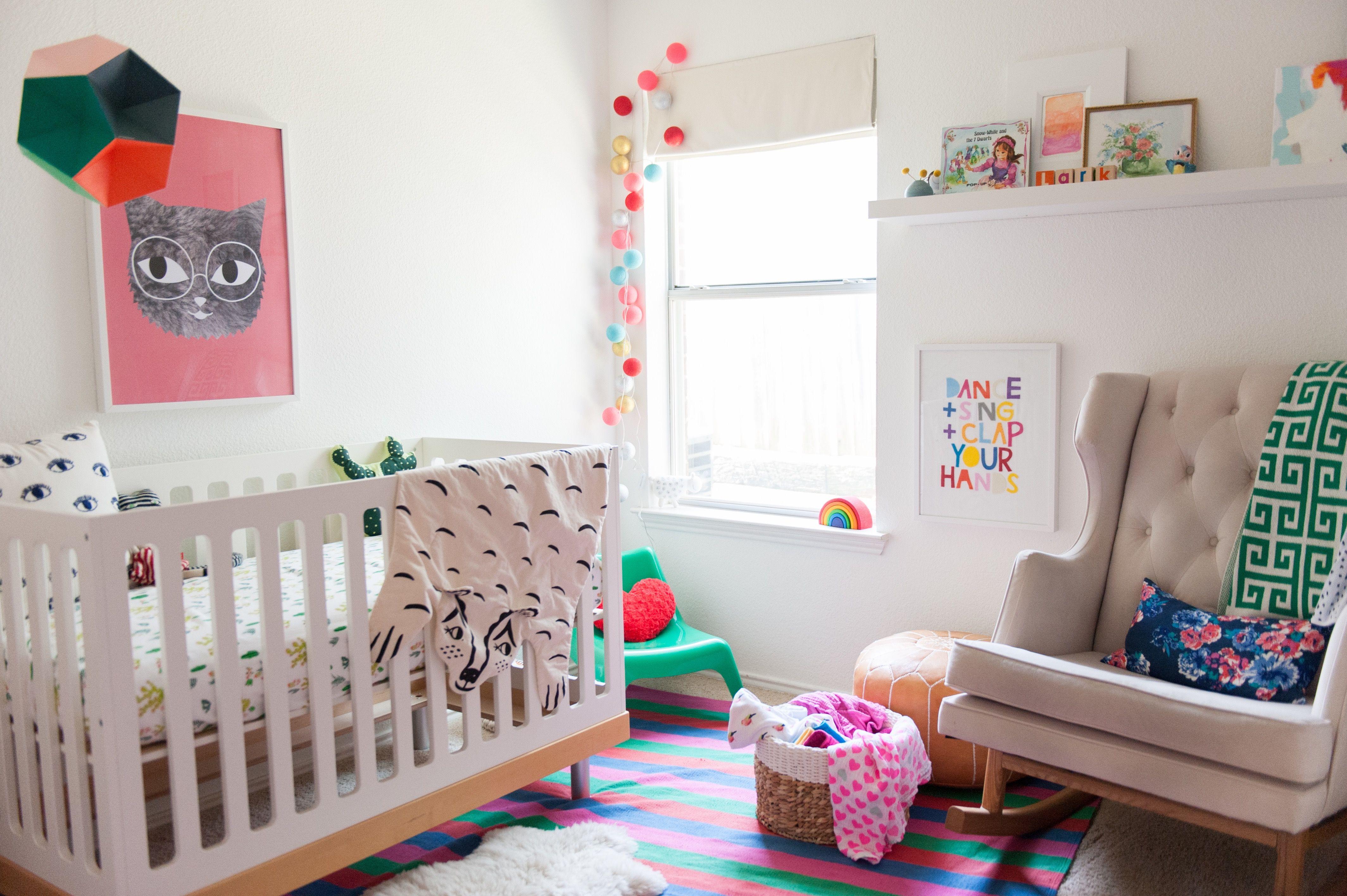 lark s colorful bohemian modern nursery f a m i l y b a b y