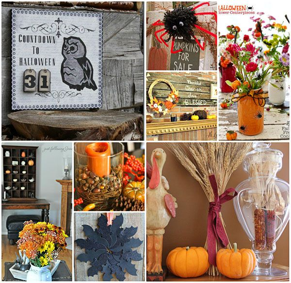 craft ideas for fall decorating