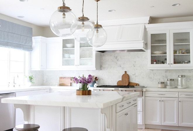 White kitchen paint color without pigment  Cabinets are