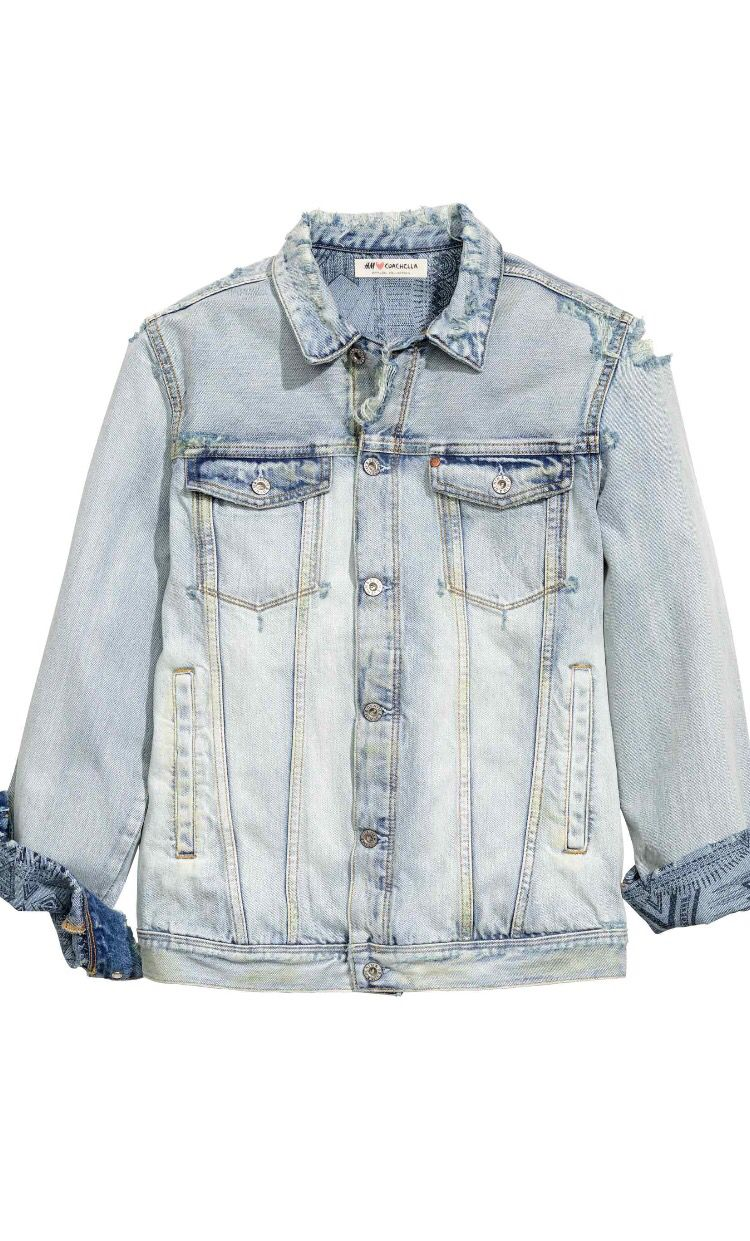 2de564780ab4 H&M Coachella #denim #jacket #coachella | ATL | Denim jacket men ...