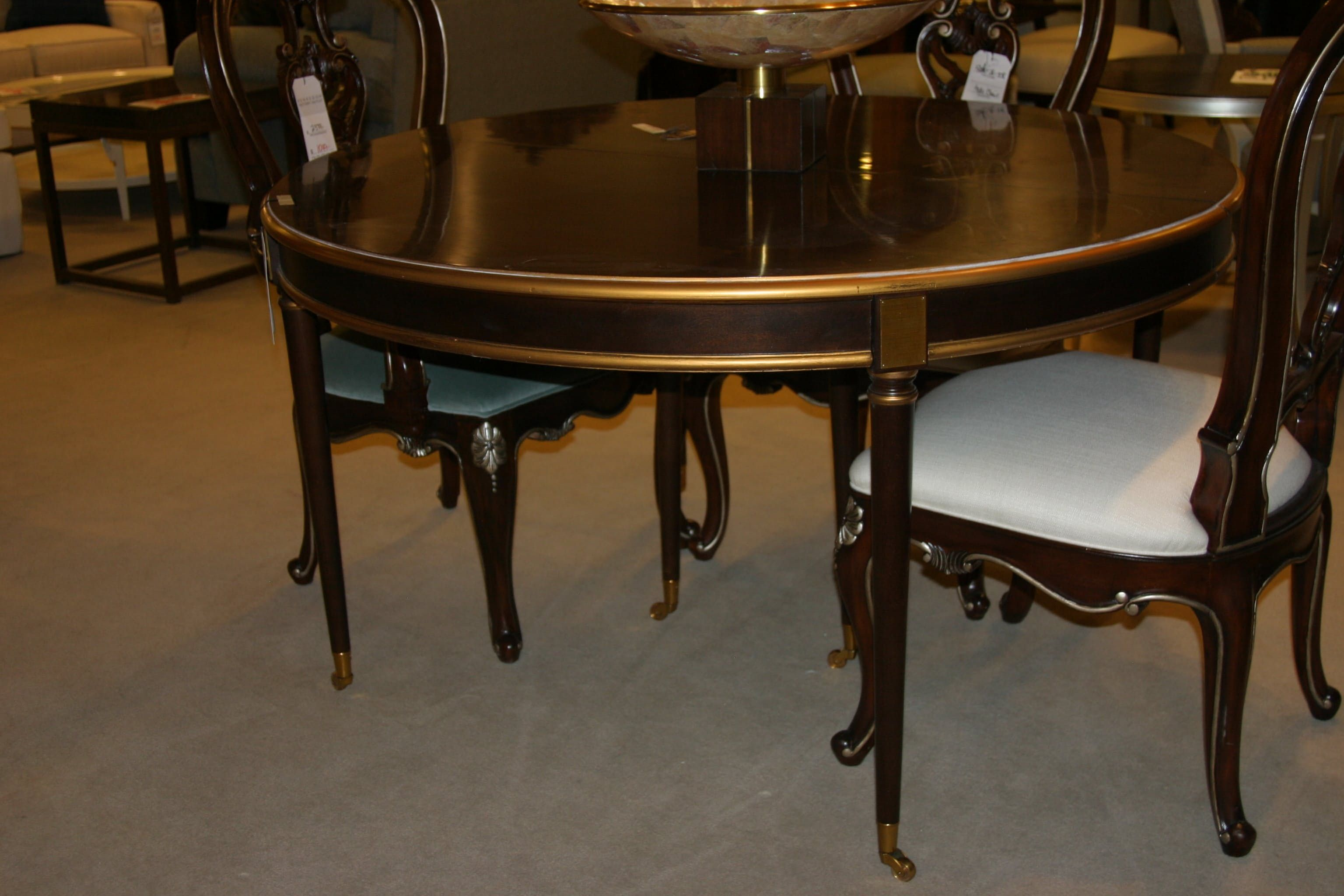 Hickory Chair Choate dining table Hickory chair, Dining