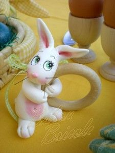 easter bunny Babou Bricole: la porcelaine froide de Brigida - Blog - Cours de modelage
