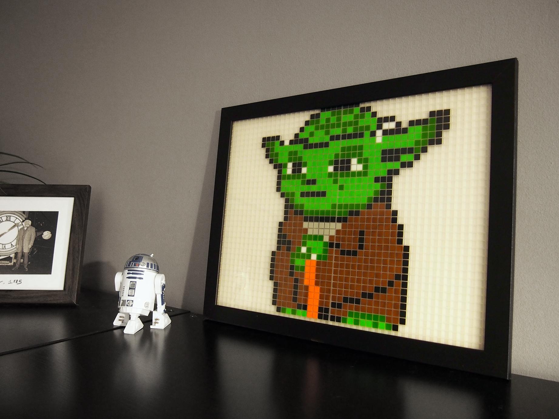 Yoda Pixel Art Les Produits De Notre Fière Manufacture Du