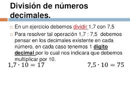 Pagina De Información De División De Fracciones Decimales Divisiones Con Decimales Decimal Fracciones Decimales