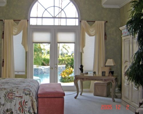 Arch Window Treatments Diy Half Moons