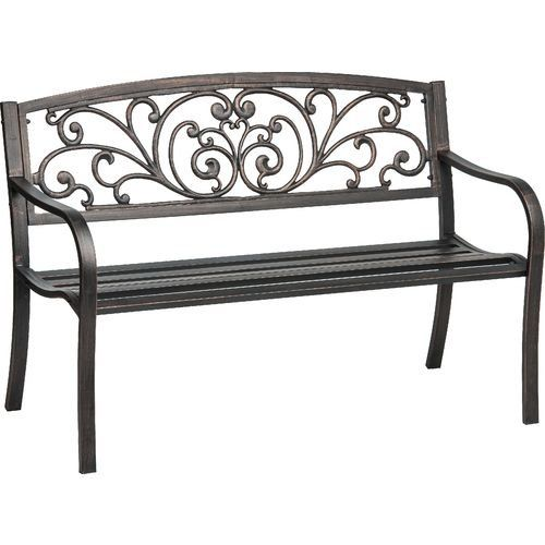 Cast Iron And Powder Coated Steel Ivy Bench Mosaic Http://www.amazon
