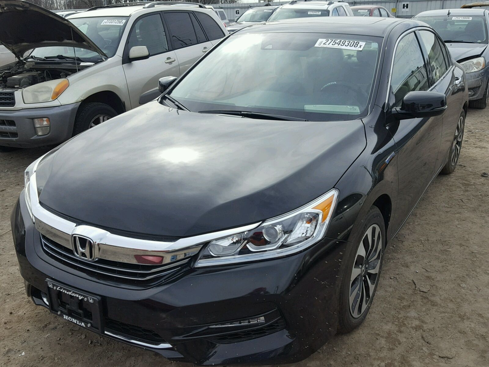 2017 #HONDA #ACCORD HYB 2.0L for Sale at #Copart Auto Auction. Place ...