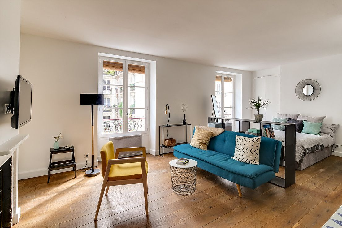 Salon et coin chambre : 19 vrais espaces délimités visuellement