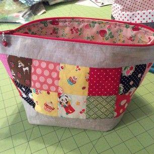 scrappy zip pouch