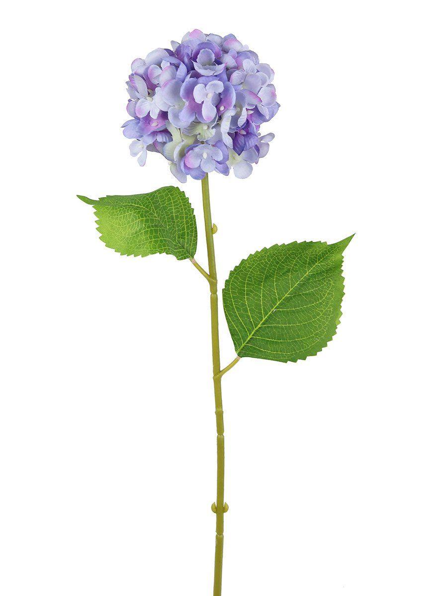 Small Silk Flower Hydrangea In Lavender And Light Purple 23 Tall