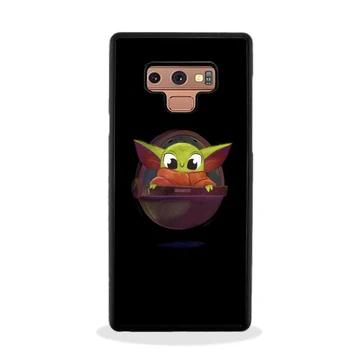 Baby Yoda Artwork Wallpaper Samsung Galaxy Note 9 Case