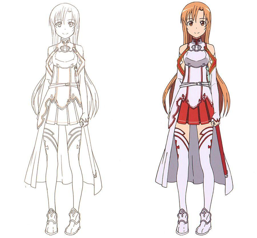 Photo of Animation Tidbits — artbooksnat:  Sword Art Online (ソードアート・オンライン) A…
