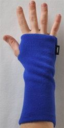 Wristies are great, practical fingerless gloves to help cold hands and wrists. Come in a variety of colors, too!