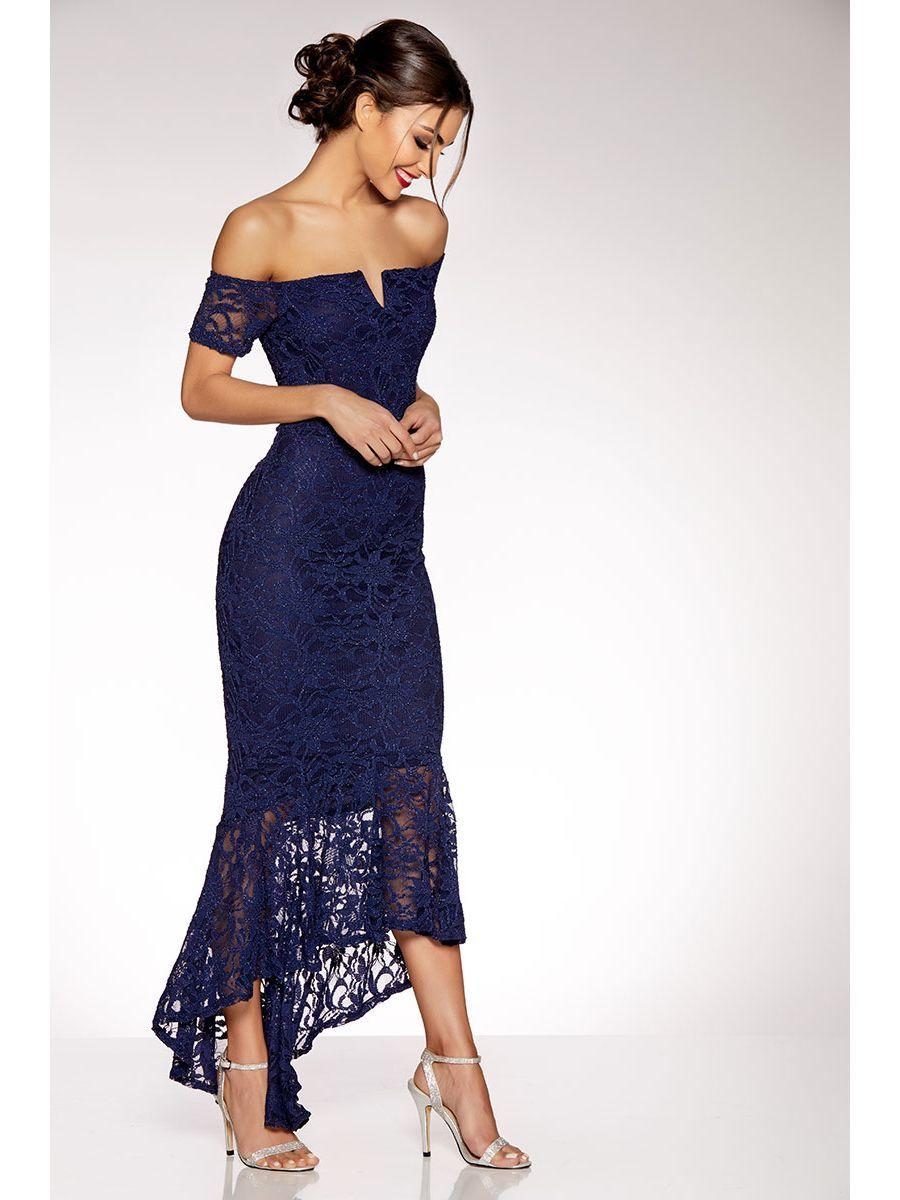 25d93562a8ec Navy Lace V Bar Maxi Dress   Outfit Inspiration   Dresses, Navy lace ...