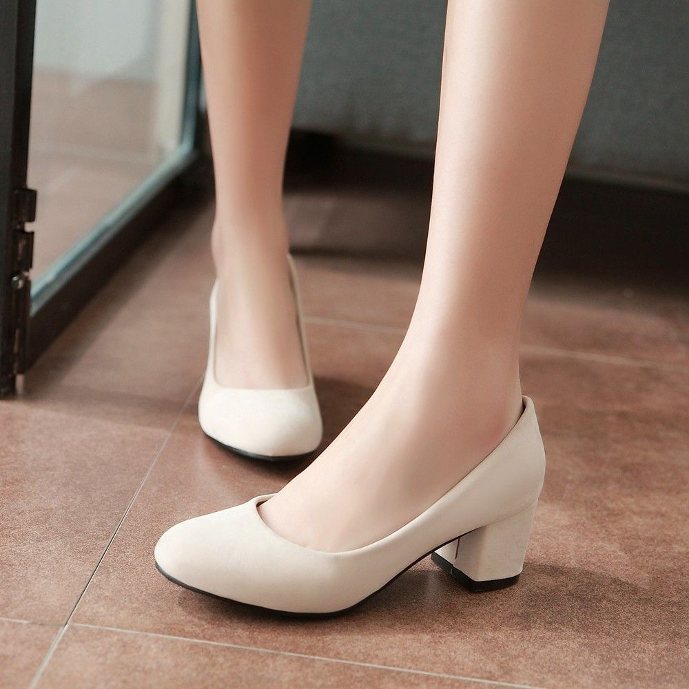 6e4a36b6eaf Heels: approx 5 cm Platform: approx - cm Color: Black, Beige Size: US 3, 4,  5, 6, 7, 8, 9, 10, 11, 12 (All Measurement In Cm And Please Note  1cm=0.39inch) ...