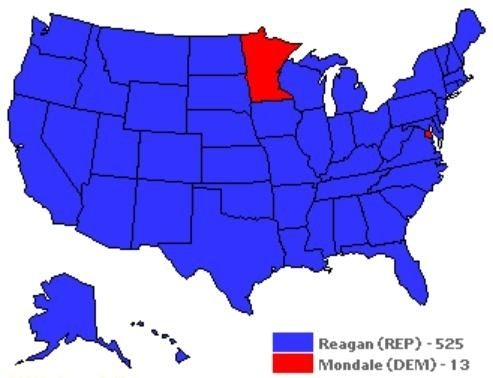 The 1984 presidential election.