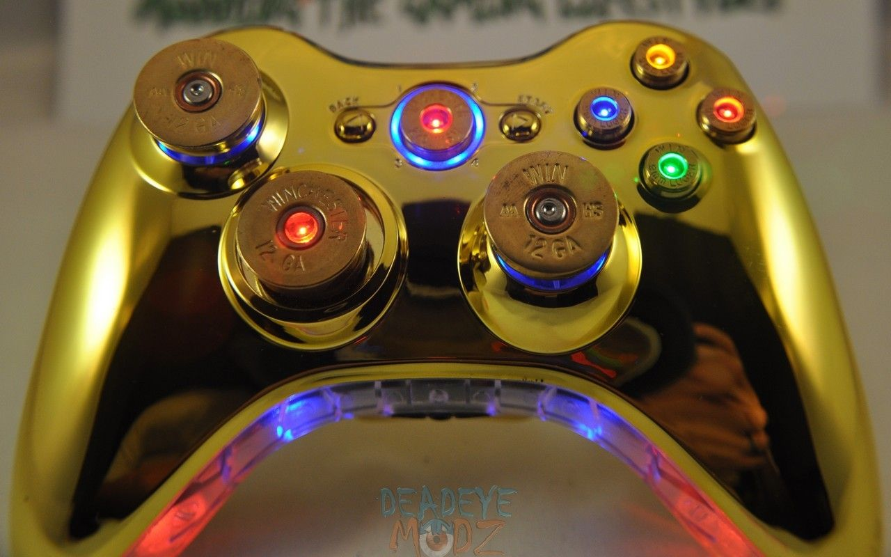 DeadEye Modz Inc. - Xbox 360 Custom Controller Full Set of ...