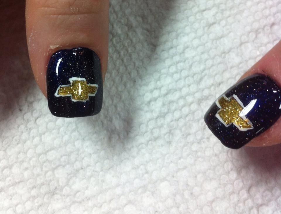 chevy nails nail art in 2019