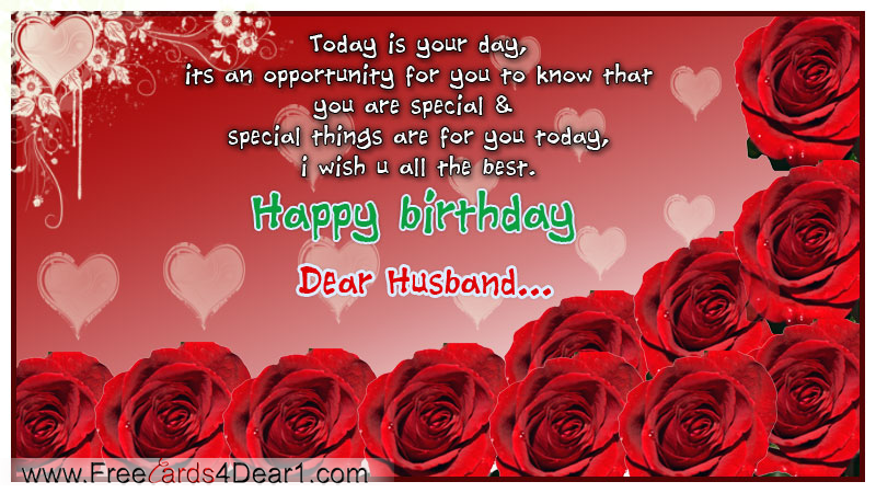 Birthday Ecard For Husband