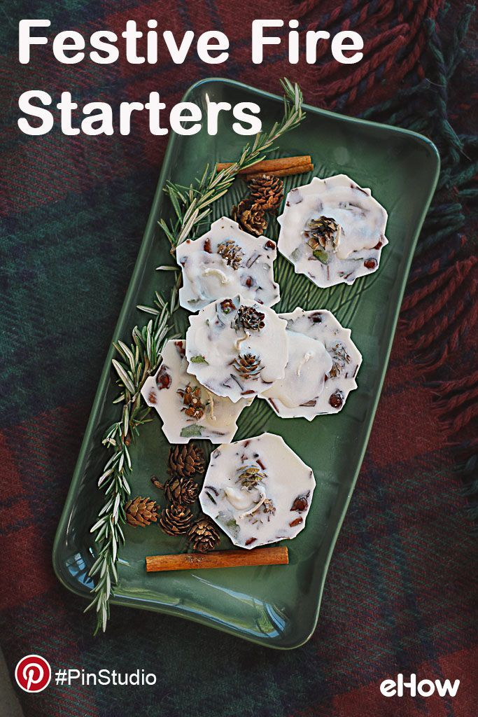 Add ambiance to your fire with homemade scented wax fire starters. #PinStudio Get the DIY instructions here: http://www.ehow.com/how_6065407_homemade-wax-fire-starters.html. Get creative on Pinterest with eHow. For more: pinterest.com/ehow.