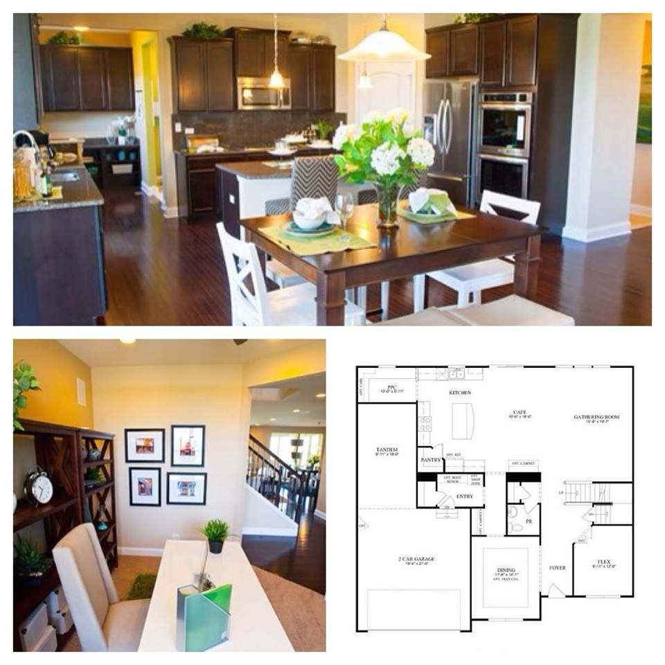 Amundsen Kitchen Hearth Room: Riverton Home Plans Can Include Spacious Kitchens, Large