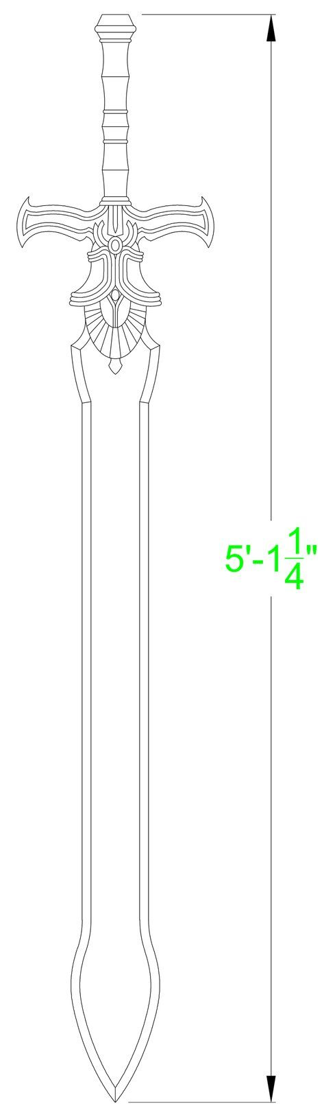 14++ Sword template info