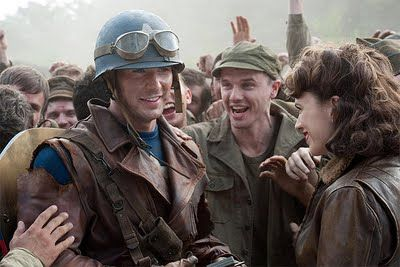 Captain America:  I love films where good guys defend the vulnerable, and are willing to do so at a very personal cost.