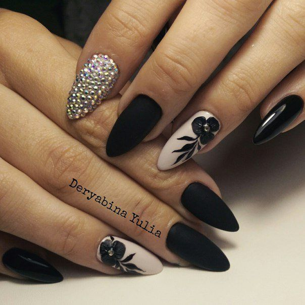 Nail Art 1309 Best Nail Art Designs Gallery Bestartnails Com Black Nail Designs Nails Nail Designs