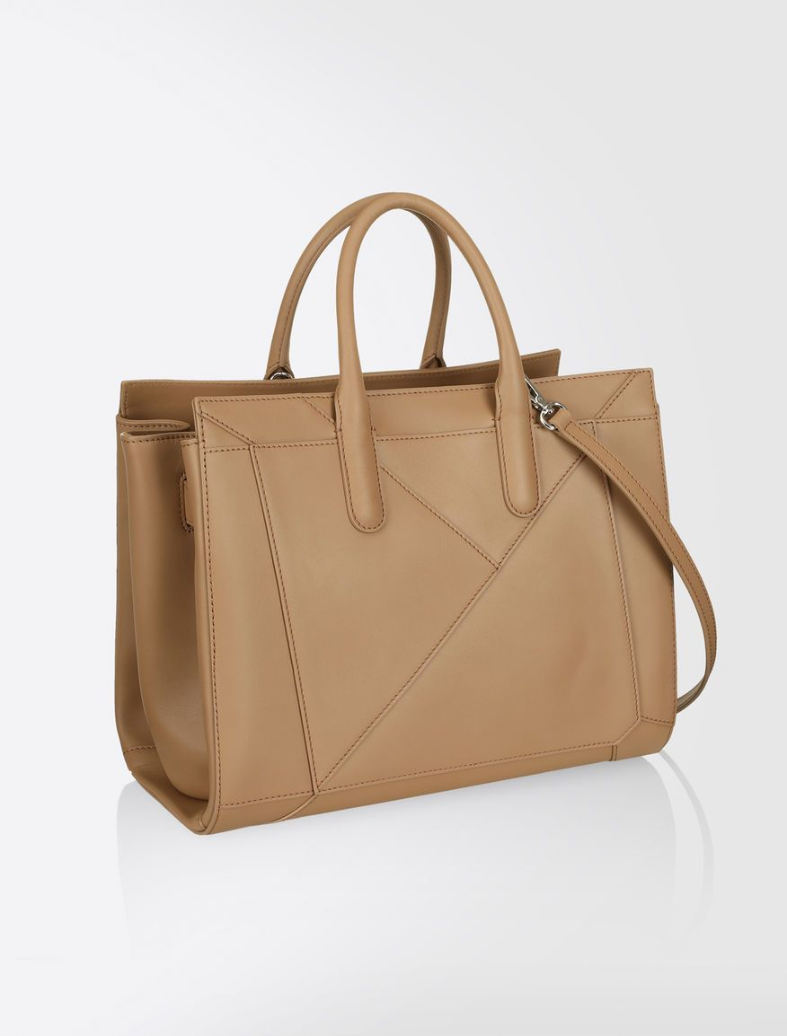 92786491ffca Max Mara CLA02 tobacco: Leather Monopolis Bag. | D Wardrobe | Bags ...