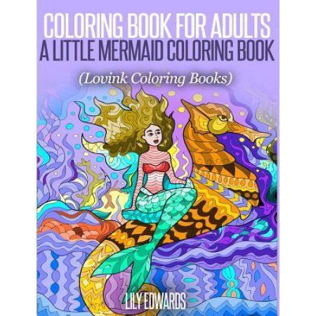 A Little Mermaid Coloring Book Lovink Books