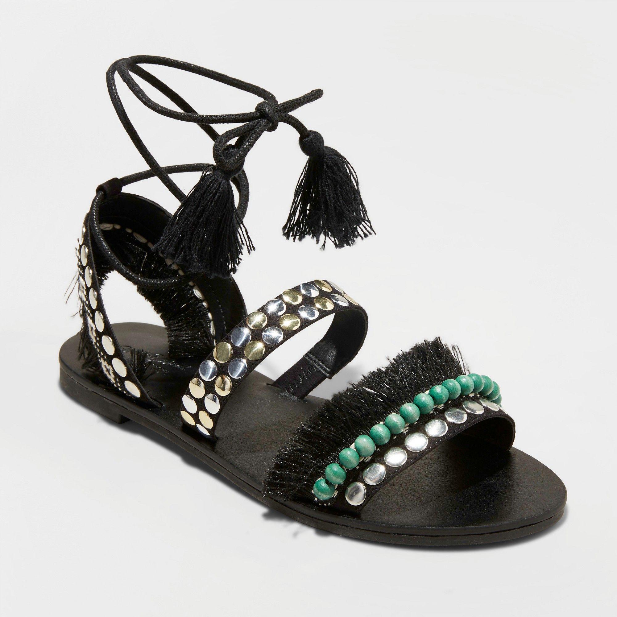 8f90af17c61 Women s Samaya Gladiator Sandals - Universal Thread Black 7.5 ...