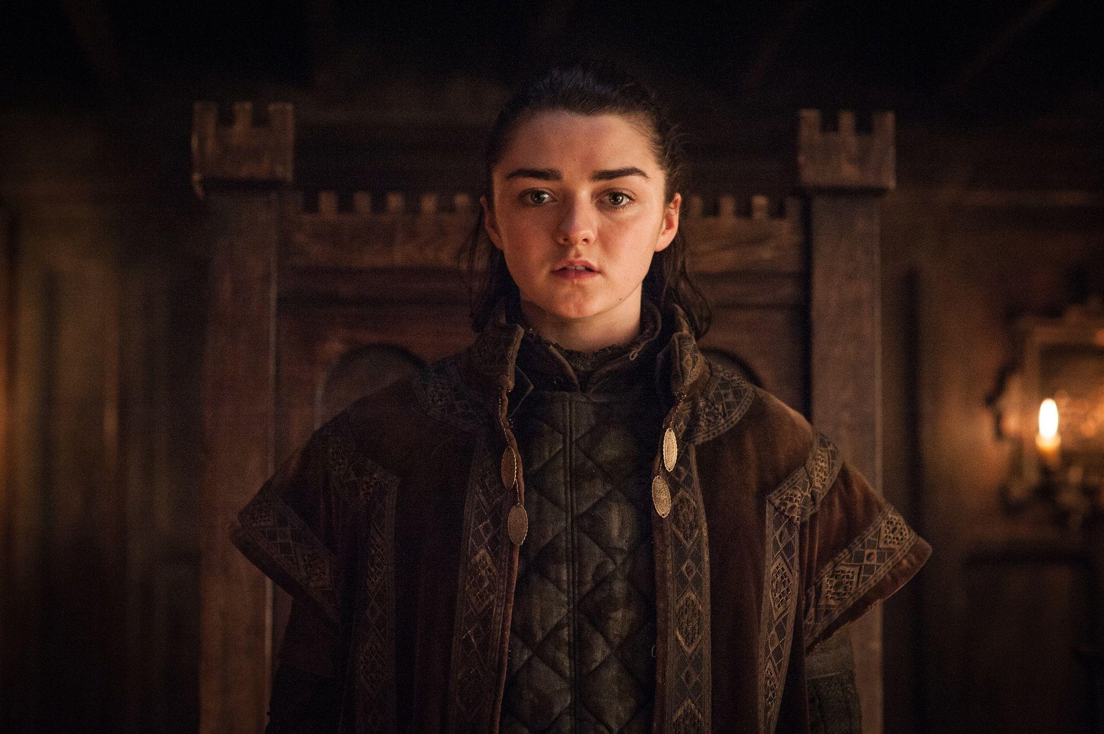 """Arya Stark (7x1 """"Dragonstone"""")"""